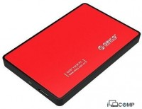 External HDD Case Orico 2588US3-V1-RD-PRO (Red)